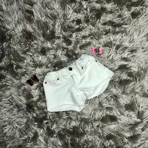 Pinc White Shorts Girl's Size 5